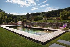 Wohnhaus A Hinterbrühl - Kramer and kramer Outdoor Furniture Sets, Outdoor Decor, Sun Lounger, Deck, Home Decor, Life, Plants, Homes, Lawn And Garden