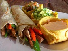Burritos ligeros sanos