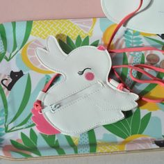 petit sac Lapin A little lovely company - deco-graphic.com
