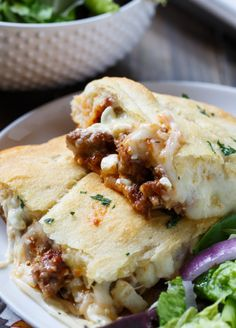 Really nice recipes. Every hour. • Crescent Lasagna Really nice recipes. Every hour....