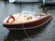 Cutest speed boat ever - I hope it has glitter in the steering wheel because when I win the lottery....