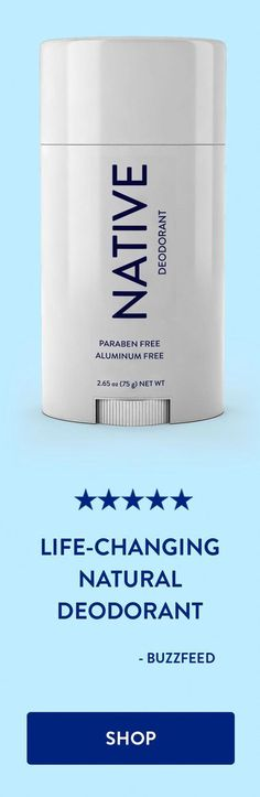 Women's Health and BuzzFeed love this deodorant! #BakingSodaForDandruff