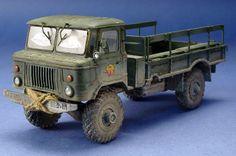 GAZ-66 Russian Truck 1/35 Scale Model