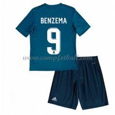 Fotballdrakter Barn Real Madrid 2017-18 Karim Benzema 9 Tredje Draktsett Real Madrid, Toni Kroos, Trunks, Barn, Swimming, 18th, Sports, Swimwear, Fashion