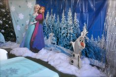 Frozen Party Set-up.