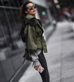 Winter Style: The Updated Anorak | FASHIONED|CHIC