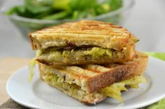 Bacon, Cheddar and Savoy Cabbage Melt