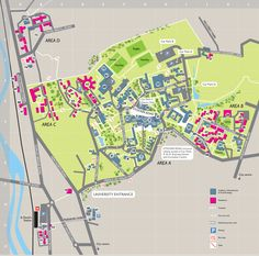 21 Best Campus Map images
