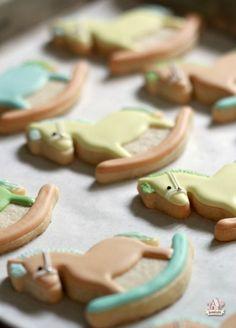 Rocking Horse Baby Shower Cookies ~ Sweetopia