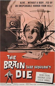 The Brain that Wouldn't Die, one of my favorite episodes on MST3k