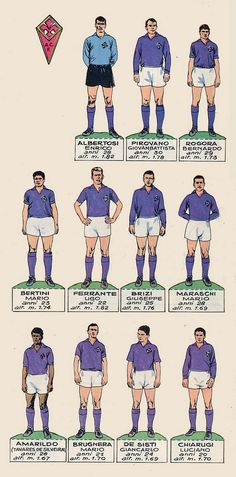Fiorentina team card in Football Boots, Football Soccer, Football Players, Football Images, Football Cards, Everton Fc, Classic Image, Jumping Jacks, Rugby