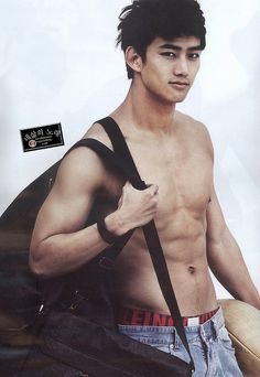 Some people should always be shirtless, for example 2PM Taecyeon