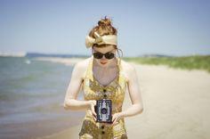 Esther-fromthesticks: 1950s Inspired Swimwear