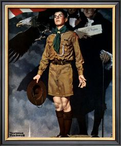 A Scout is Loyal. A Scout is true to his family, friends, Scout leaders, school, and nation.