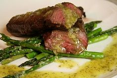 Skirt Steak and Chimichurri sauce