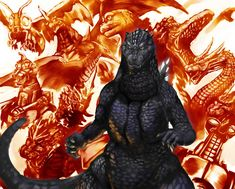 godzilla | ... king of the monsters that s right godzilla baby i missed posting the