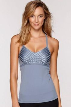 Top Fitness Tankini, Basic Tank Top, Sportswear, Active Wear, Latest Trends, Camisole Top, Tank Tops, Swimwear, Clothes