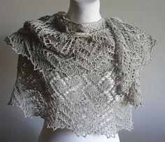 Ravelry: Silver Touch Lace Shawl pattern by Damara Lipiriska