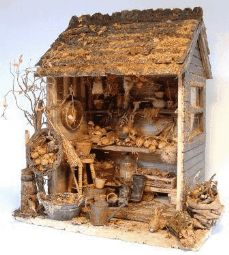 Fantastic Autumnal Shed Project by Janet Brownhill