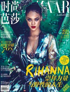 Rihanna Harper's Bazaar China Photo Spread!!