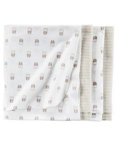 Baby Girl 4-Pack Receiving Blankets | Carters.com