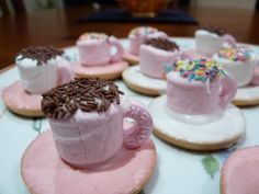 Tea Cup Biscuits... these are easy to make and little girls LOVE them!