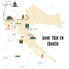 Croatia: itinerary and practical tips – Ti & # chilli pepper – Travel and Tourism Trends 2019