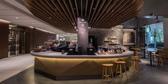 Image 8 of 8 from gallery of How Starbucks Uses BIM and VR to Bring Local Spirit to its Japan Locations. Image Courtesy of Starbucks Japan Starbucks Store, Starbucks Reserve, Japanese Market, Coffee Store, Japan Design, New Shop, Sustainable Design, Starbucks