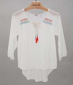 Miss Me Embroidered Top at Buckle.com