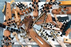 Guitar and Bass Parts and Prototypes - Atlansia Guitars, Japan
