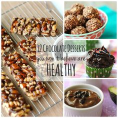 12 Chocolate Desserts You Won't Believe Are Healthy | Eat Yourself Skinny