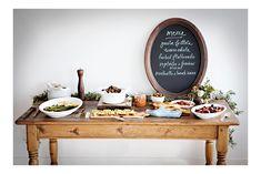 buffets, chalkboards, buffet tables, idea, foods, supper, menu boards, dinners, dinner parties