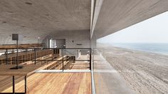 On the shore of an idyllic white sandy beach in Beidaihe New District, a coastal region in eastern China, rests a monolithic yet classical structure that contains sublime spaces of aesthetic illumination. The Seashore Library, designed by the Beijing-based studio Vector Architects in 2015, portrays the endless interaction between the manmade and the natural where light, wind and the sound of the ocean enter uninterrupted into the building's spaces to accentuate its austere lines.