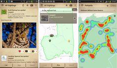 New app tracks wildlife