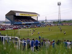 Springfield Park Wigan Athletic, Nostalgic Pictures, British Football, West Bromwich, Football Stadiums, Terraces, Manchester City, Old Pictures, Great Britain