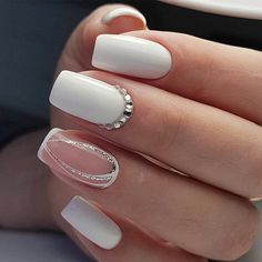 33 Unique Acrylic Nail Designs To Make Your Look Unforgettable New Nail Art, Acrylic Nail Art, Acrylic Nail Designs, Nail Art Designs, Nails Design, Long Nail Designs, Winter Nail Designs, Beautiful Nail Designs, Winter Nails