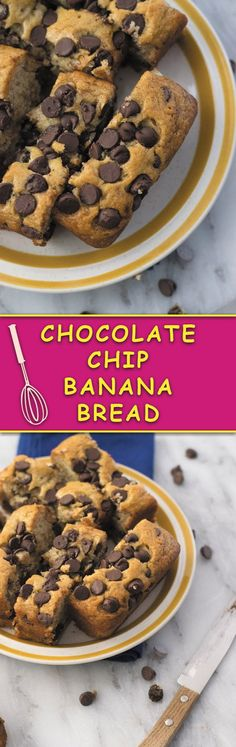 Chocolate Chip Banana Bread | Naive Cook Cooks