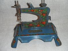 French Vintage Toy Sewing Machine by FrenchCountryLiving on Etsy, $38.00
