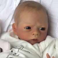 Reborn Baby Girl Doll Kailyn/Petra Lechner a Polly's Perfect Baby