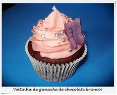 Fofurices: Voltinha de ganache de chocolate branco
