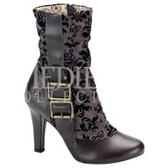 Elegant Steampunk Boots - FW2027 from Dark Knight Armoury