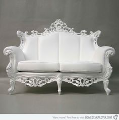18 Pretty Vintage Sofa and Settee Designs | Home Design Lover