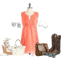 One Dress..., created by amanda-law-beaulieu on Polyvore