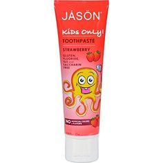 Jason Kids Only Toothpaste Strawberry Description: JASON Kids Only! Toothpaste delivers fun fruity freshness and an easy to squeeze tube. Delicious Natural Strawberry flavor keeps the kids coming back Kids Toothpaste, Star Wars, Dental Supplies, Only Child, Organic Aloe Vera, Teeth Cleaning, Natural Cosmetics, Health And Beauty, Make Up
