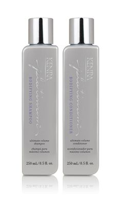 NEW Kenra Platinum™ Bodifying Shampoo and Conditioner - loveee Kenra products. Shampoo For Hard Water, Cosmetic Design, Professional Hairstyles, Protective Hairstyles, Beauty Shop, Shampoo And Conditioner, Cosmetology, Hair Care, Moisturizer