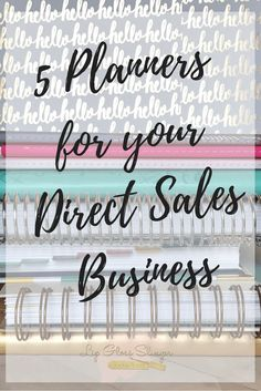 5 Planners for your Direct Sales Business