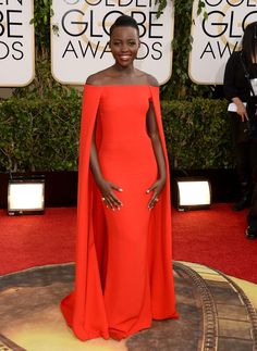 Lupita Nyong'o Photos: 71st Annual Golden Globe Awards - Arrivals