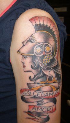 Pix For > Goddess Athena Owl Tattoo