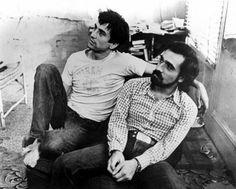 Robert De Niro and Martin Scorsese way back in the day.