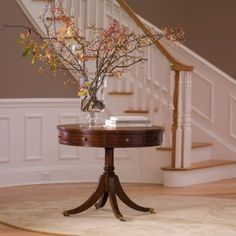 newport bradford rent table, Ethan Allen by autumn